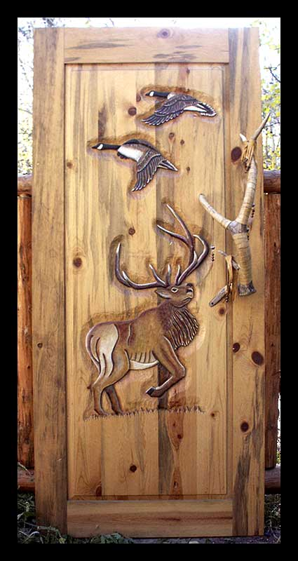 African Safari Door
